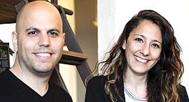 נעמה אלון ו עוז אלון מייסדים משותפים האניבוק, צילום: האניבוק