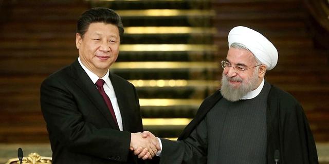 איראן וסין חתמו על הסכם לשיתוף פעולה צבאי וכלכלי