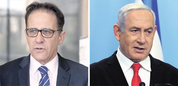 מימין: ראש הממשלה בנימין נתניהו ומזכיר הממשלה צחי ברוורמן, צילומים: אלכס קולומויסקי, אוהד צויגנברגULI_SONNTAG