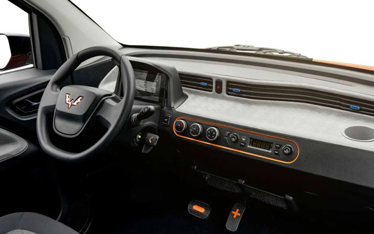 וולינג מיני EV מבפנים, צילום: Wuling