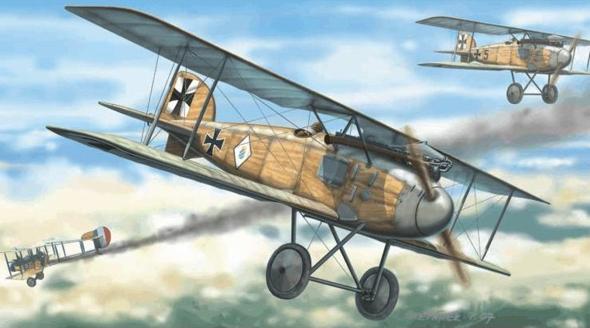מטוס קרב אלבטרוס, הכלי עליו צבר מנפרד את רוב ההפלות שלו