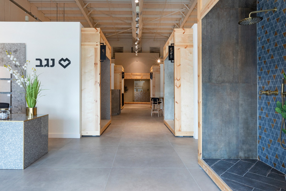 """סניף של קבוצת נגב. שטח החנות החדשה של הקבוצה בדיזיין סיטי - למעלה מ-100 מ""""ר , צילום: באדיבות אלירן דורון"""
