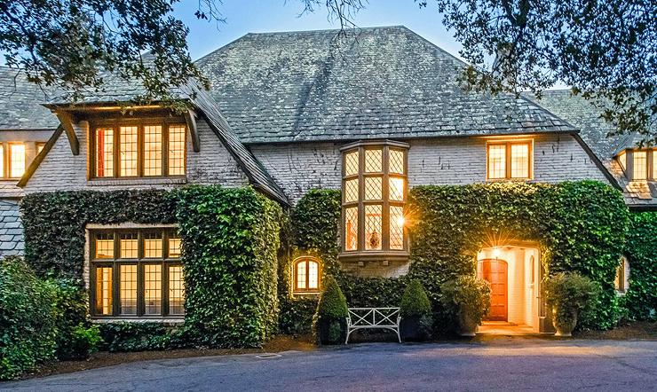 הבית  בהילסבורו,  פרבר מדרום לסן פרנסיסקו , צילום: Sotheby