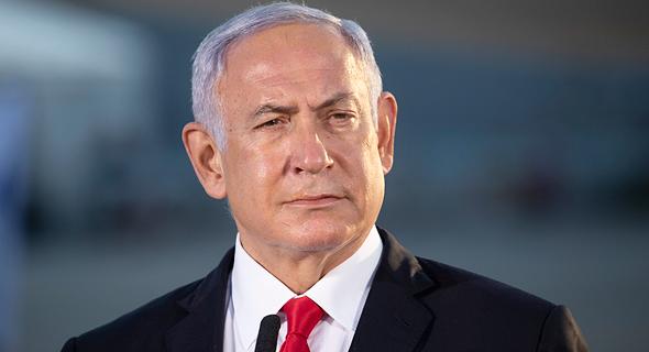 בנימין נתניהו ראש הממשלה 30.3.21, צילום: מוטי מילרוד הארץ