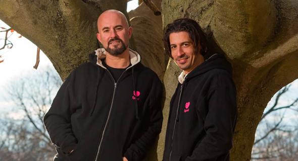 Spiral co-founders Dan Blumenfeld (left) and Shawn Melamed. Photo: Heftzi Elgar