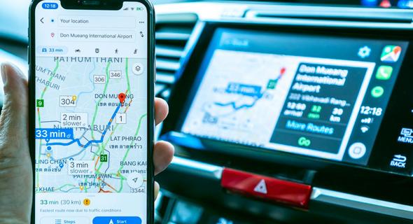 גוגל מאפס גוגל מפות ניווט, צילום: שאטרסטוק
