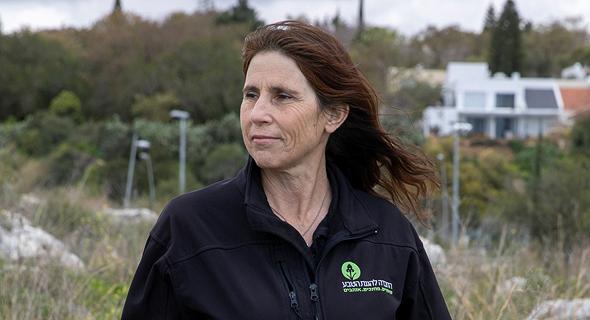 איריס האן מנכלית החברה להגנת הטבע 31.3.21, צילום: אביגיל עוזי