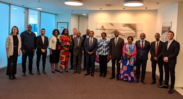 Aura Air met with 10 ambassadors from African nations. Photo: Aura Air