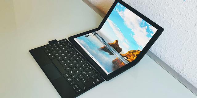 לנובו ThinkPad X1 Fold: המחשב הראשון עם מסך מתקפל