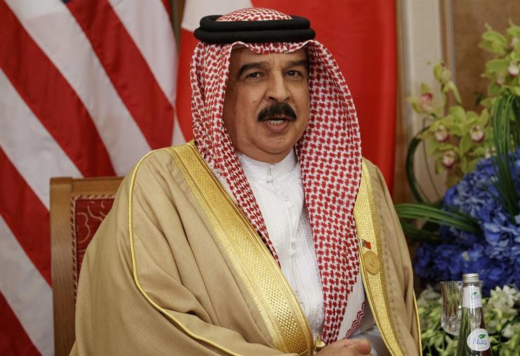מלך בחריין חמאד בין עיסא אל חליפה , צילום: איי פי