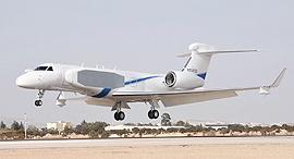 1 מטוס מנהלים נחשון אורון גאלפסטרים G550, צילום: משרד הביטחון