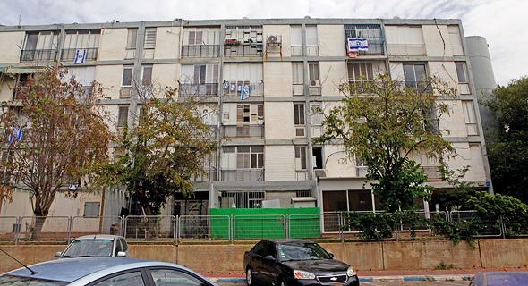 בית דיור ציבורי ברמת אביב , צילום: אוראל כהן