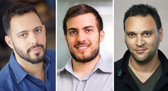 מימין: עמי אברהמי, רז רודיטי וגל שאול