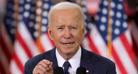 ג'ו ביידן מכריז על תוכנית לבלימת משבר האקלים, בתחילת החודש., צילום: רויטרס