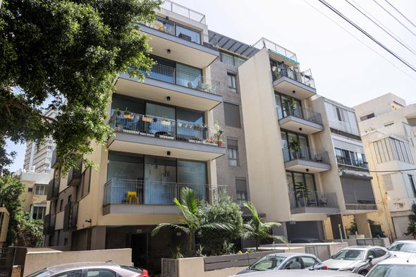 הבניין ברחוב שלום עליכם 46 בתל אביב