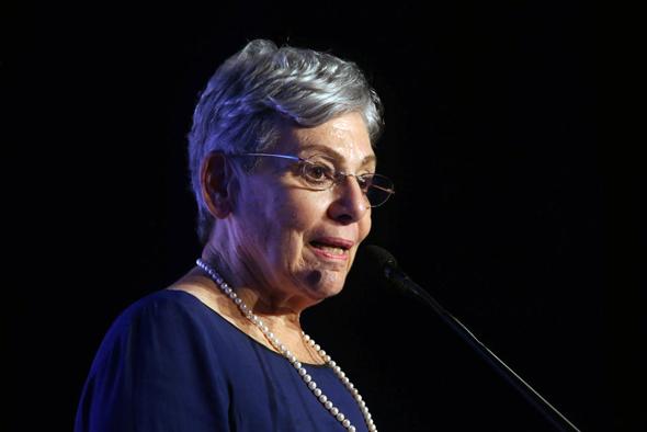 יהודית ברוניצקי מייסדת אורמת ועידת כחול לבן, צילום: צביקה טישלר