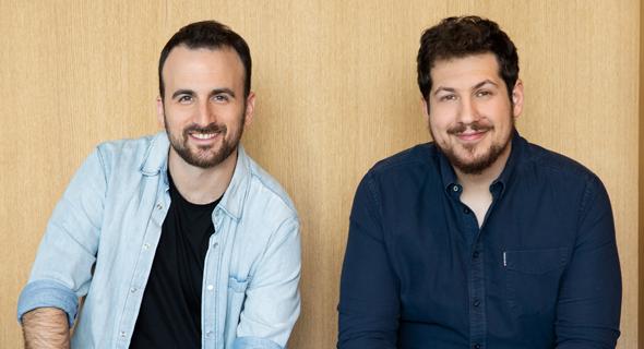 Empathy co-founders Ron Gura (right) and Yonatan Bergman. Photo: Dedi Elias