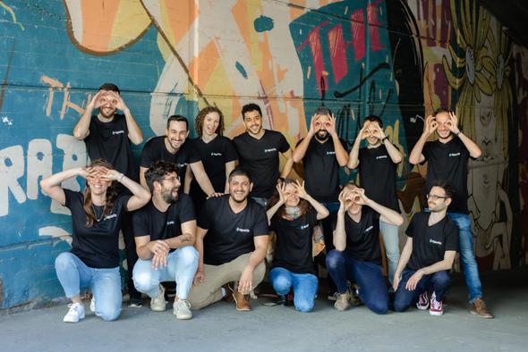 The Aporia team. Photo: Omar HaCohen