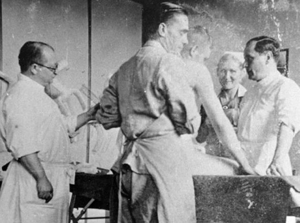 רופאים נאציים במעבדות אושוויץ