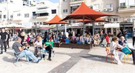 רחוב אשתורי הפרחי ב תל אביב, צילום: דין אהרוני רולנד