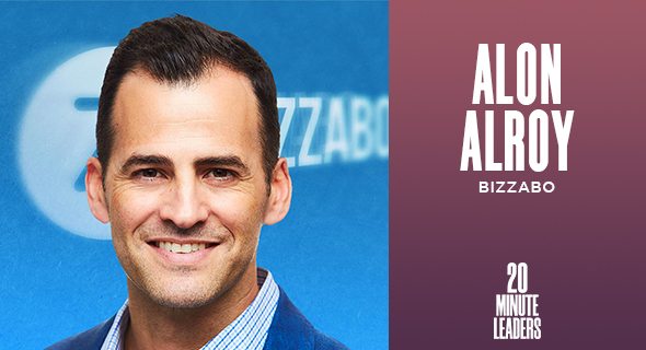 Alon Alroy, co-founder, CMO and CCO of Bizzabo. Photo: Bizzabo
