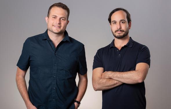 מימין: תום לביא וערן נתנזון  ממייסדי הסטארט-אפ SueApp