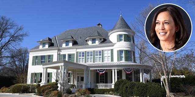 זה לא הבית הלבן, אבל גם להאריס לא חסר: המעון החדש של סגנית הנשיא