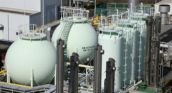 המסוף הראשון בייצור מימן נקי ביפן. למדינה תוכנית אסטרטגית מקיפה