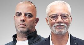 """איתן יוחננוף בעלי יוחננוף ו אייל רביד מנכ""""ל ויקטורי, צילום: אוראל כהן, עמית שעל"""