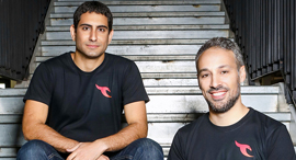 Talon co-founders Ohad Bobrov (right) and Ofer Ben-Noon. Photo: Shlomi Yosef