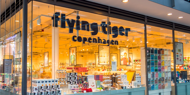 פוקס תפתח בארץ חנויות של רשת הסטוק הדנית Flying Tiger