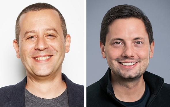 Ranny Nachmias (left) and Stephan Heller. Photo: Ranny Nachmias/Intel Ignite