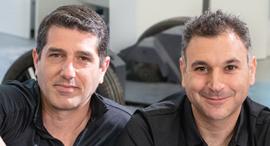 מימין אחישי סרדס ודניאל בראל , צילום: יורם אשהיים
