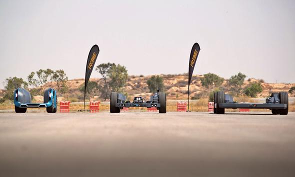 מגנה הקנדית תייצר רכב חשמלי על בסיס הטכנולוגיה של REE הישראלית
