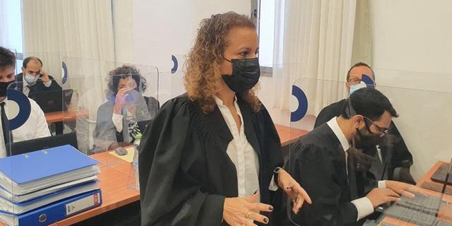 """התובעת במשפט נתניהו עו""""ד יהודית תירוש , צילום: גלעד מורג"""