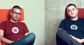 יוני לוקסנבורג ואריאל קליקשטיין, מייסדי אלמנטור , צילום: עמית שעל