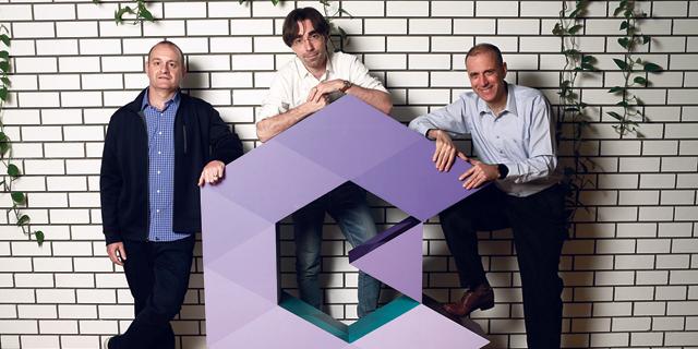Guardicore co-founders Ariel Zeitlin (left), Pavel Gurvich, and Dror Sal