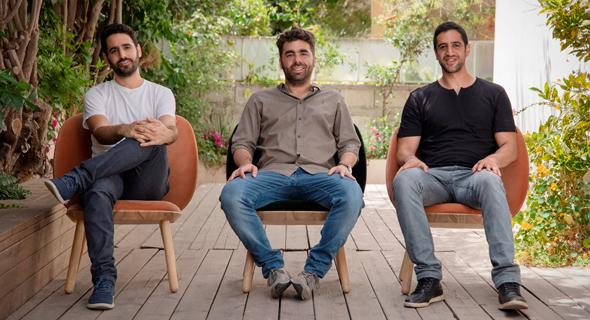 מימין: אייל רז, איציק אלבז ועירא בלסקי