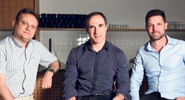 מימין: עידן עפרת, מיכאל שאולוב ופבל ברנגולץ, מייסדי Fireblocks