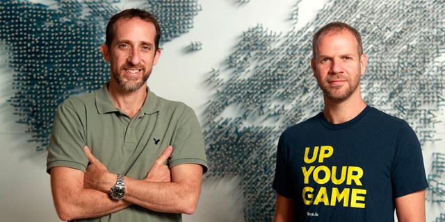 אסף יגאל (מימין) ותומר לוי, צילום: עמית שעל
