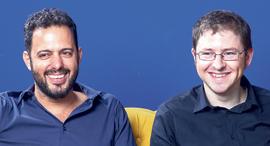 Augruy co-founders Gal Shaul (left) and Saar Yoskovitz. Photo: Ori Habushi