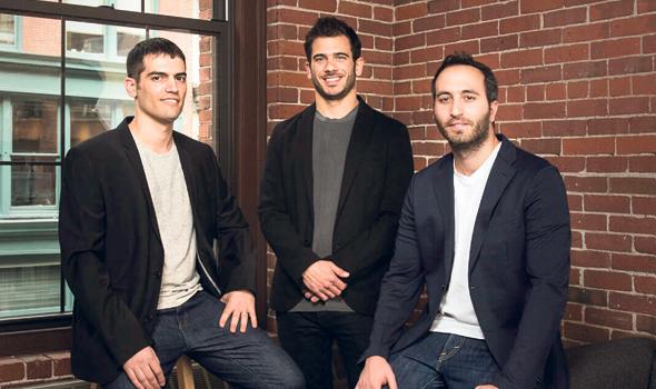 מימין: איתי זלוטניק, רעי גופר ושמעון אלקבץ