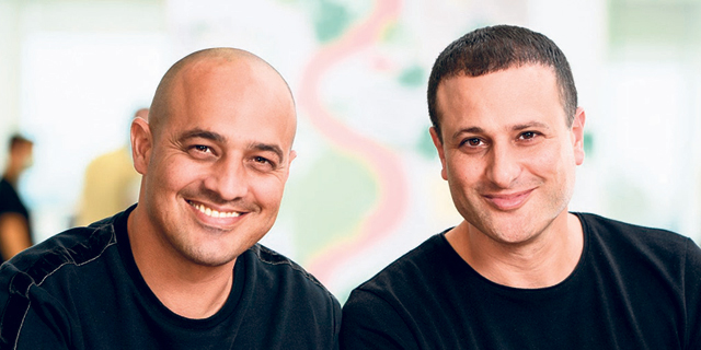 Controlup co-founders Asaf Ganot (left) and Yoni Avital. Photo: David Garb