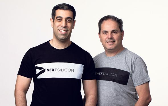 מייסדי NextSilicon. מימין: אייל נגר ואלעד רז