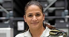 """תא""""ל מירב בריקמן מפקדת מרכז הספקה אחוד מטכ""""לי של צה""""ל, צילום: דובר צה""""ל"""