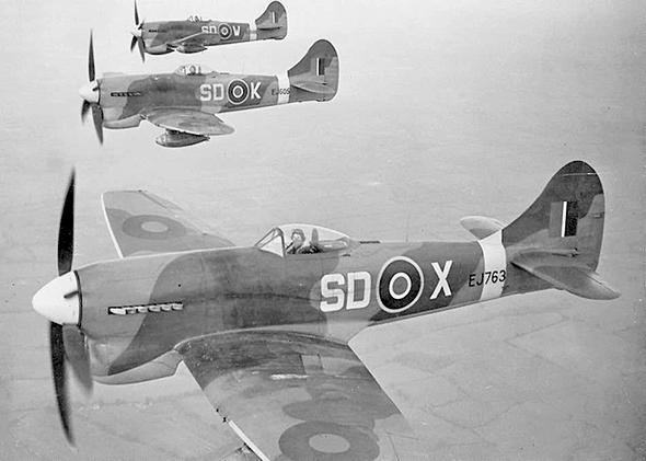 מטוסי טמפסט במשימה