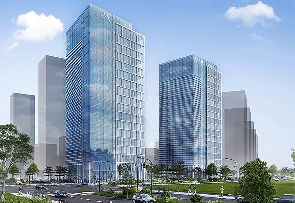 פרויקט AYALA TOWERS בפארק העסקים החדש בצריפין