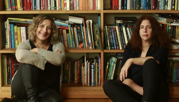 אורנה לנדאו ומירי רוזובסקי, צילום: עמית שעל