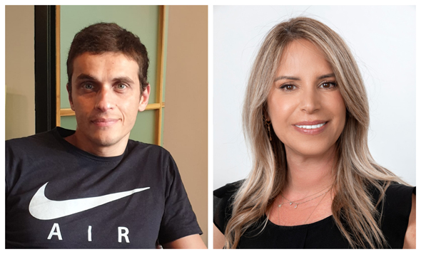 Pairzon founders, Galit Arizon and Oded Mega. Photo: PR