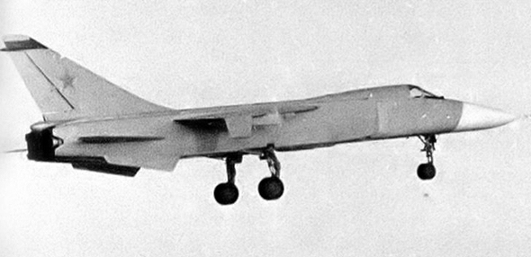 מטוס הסוחוי T6, אותו הצליח איליושין לבלבל